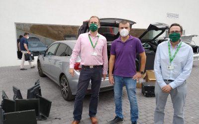 Profesorado y alumnado de los colegios ELIS en Murcia y Alicante intensifican sus acciones solidarias en tiempos de pandemia