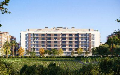 AEDAS Homes arranca la construcción de nuevas viviendas sostenibles y de diseño junto a la huerta de Valencia