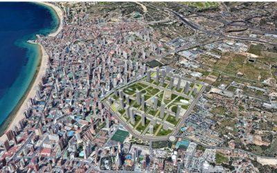 La nueva versión del Plan Parcial 'Ensanche Levante' de Benidorm multiplica la reserva de suelo para vivienda protegida