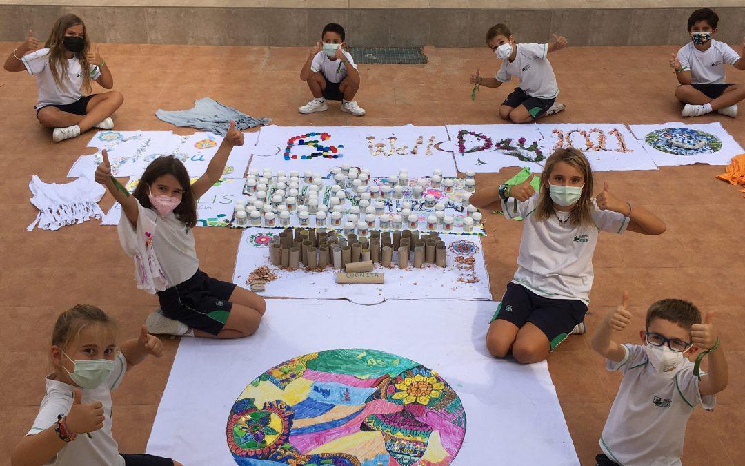 1.300 alumnos de Murcia y Alicante se suman al Día Global del Bienestar junto a 65.000 estudiantes y profesores de todo el mundo